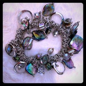Erica Lyons new fashion bracelet black purple
